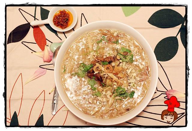 Taiwanese Rice porridge 6