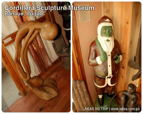 Modern Sculptures of the farmer-carvers of the Cordillera