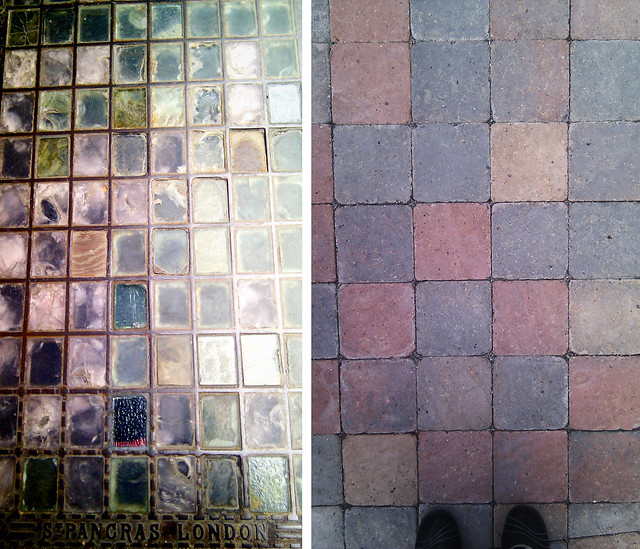 Phone photos: outdoor flooring