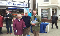 27/10/12 Faversham talking with local voters