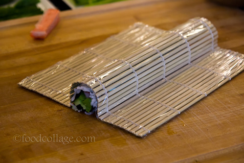 Rolling Maki at Sushi Class at Habitat