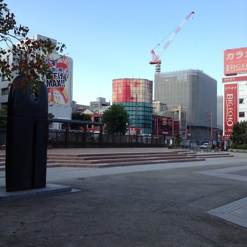 朝の高知中央公園ステージ by haruhiko_iyota
