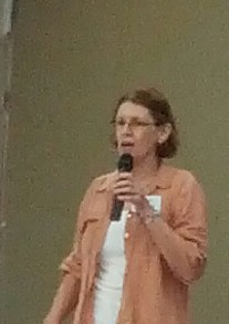 Barbara Webster speaks at Brisbane Labour History Association forum 121027