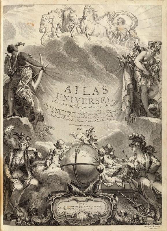 Atlas Universel, Par M. Robert Geographe ordinaire du Roy 1758