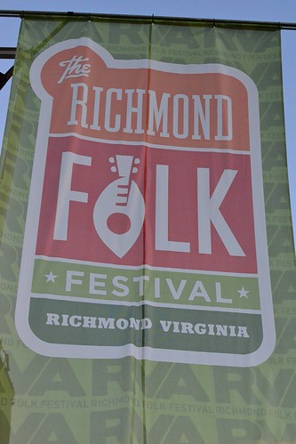Richmond Folk Festival Banner