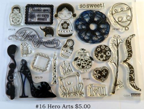 #16 Hero Arts $5.00
