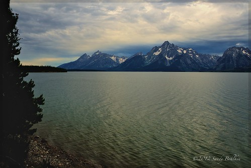 Jackson Lake Early Morning Blue Hour.  Photo © Flickr user: sandyb49.