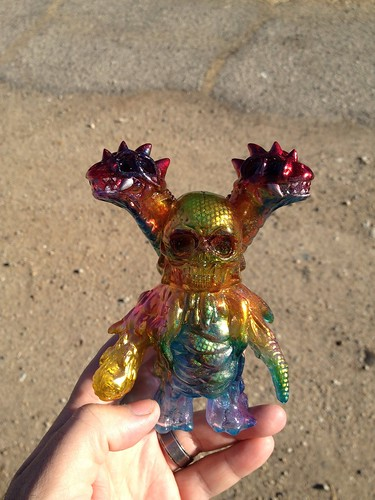 Custom 1off for @designercon #teammonsterkolor @monsterkolor @ booth 505 by Bebop'n