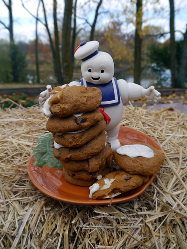 Pumpkin Marshmallow Chocolate Chip Cookies (0022)