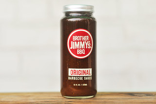 Sauced: Brother Jimmy's BBQ Original Barbecue Sauce & Giveaway