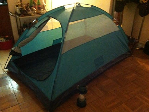 apartment tent rides again