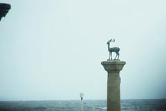 Cervo a protezione del porto vecchio
