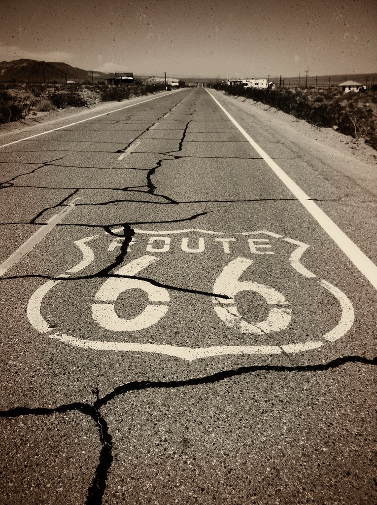 famous song route 66