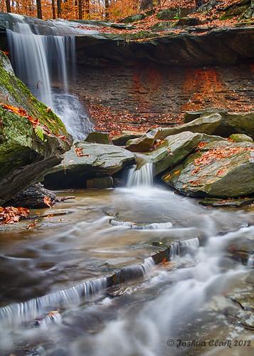 autumn ohio fall waterfall josh 1740mm cuyahogavalleynationalpark cvnp bluehenfalls joshuaclark canon7d momentsinnature flickrexplore460