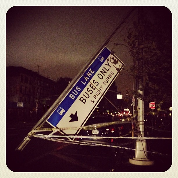 Hurricane #Sandy damage in Manhattan #NYC