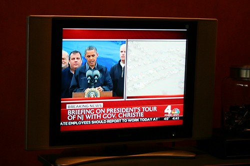 Barack The Vote #sandy