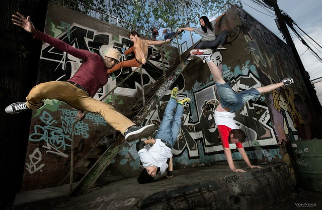 Flipside meets Bboys