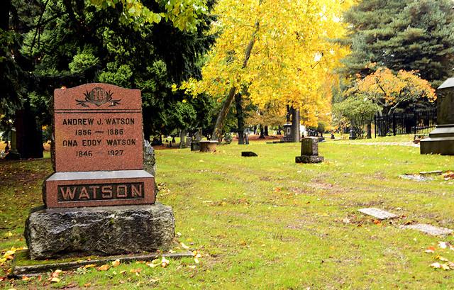Watson Grave Stone
