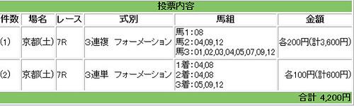 121103_京都7R馬券