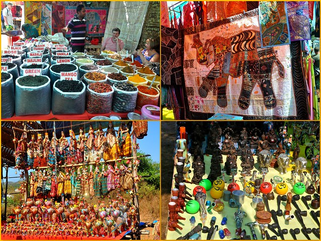 Anjuna Flea Market Collage