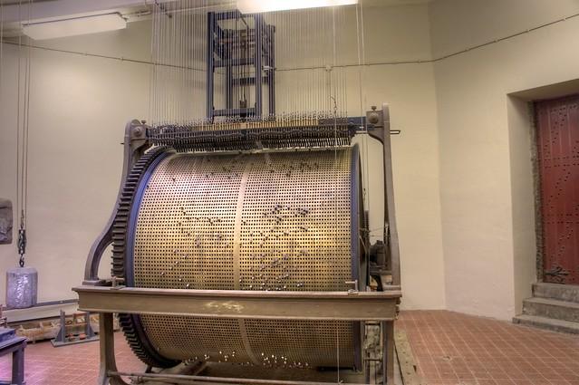 The mechanism behind the Belfort chimes