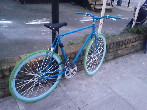 Mon mode de transport dans Londres !