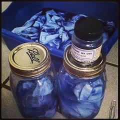 Ice blue!