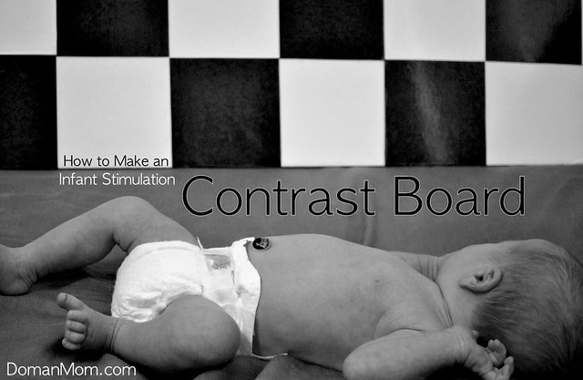 How to Make an Infant Stimulation Contrast Board