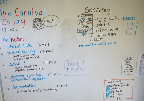 Carnival essay, WG and FAS by trudeau