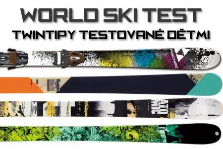 World Ski Test 2012 – twintipy testované dětmi