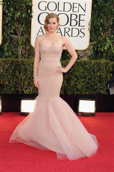 Golden Globe Amy Adams 2013