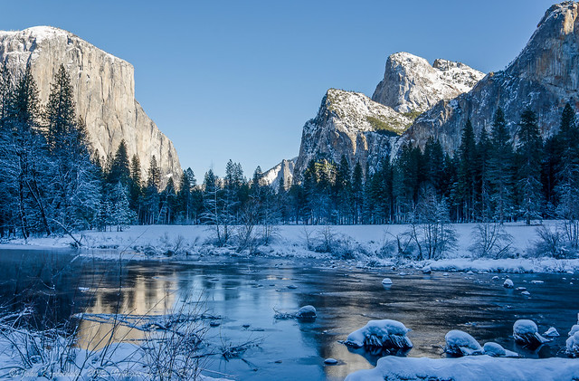 Yosemite National Park In The Winter Flickr Photo Sharing