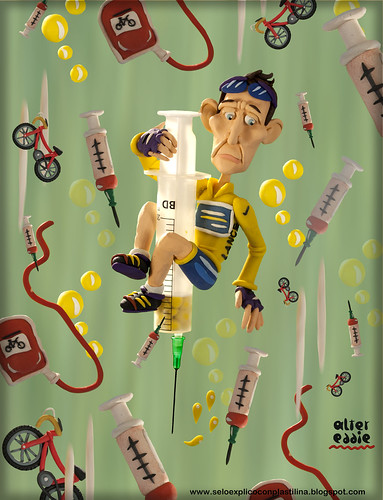 Lance Armstrong by alter eddie