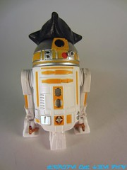 Yellow R2 Series Astromech Droid
