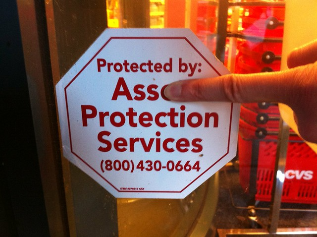 Protected by Ass Protection Services