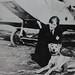 Small photo of Amelia Earhart with dog of Neta Snook