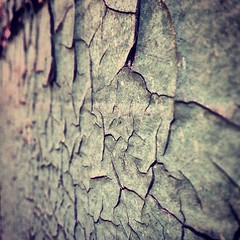 #3. Cracked Paint on the Wall.