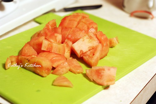 蕃茄炒蛋 tomoto egg 2
