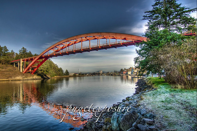 Rainbow Bridge, La Conner Washington