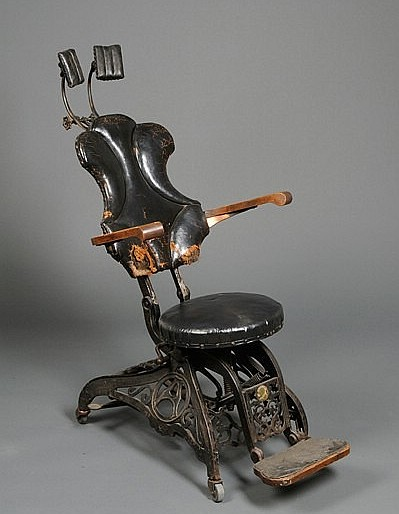 Old dentist chair | Dentist chairs 1800's | By: Health ...