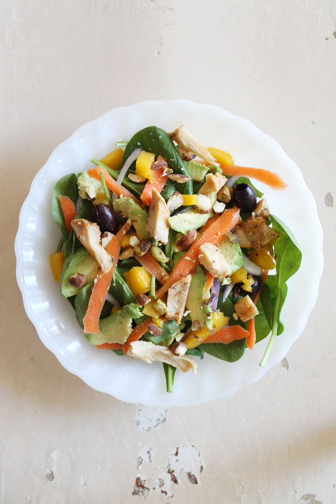 mango chicken salad 1