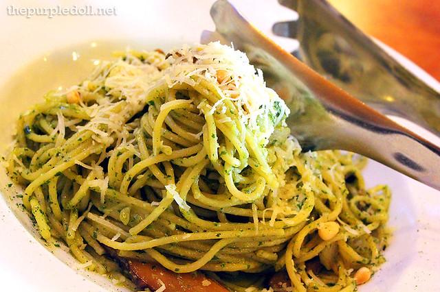 Al Funghi Spaghetti P375