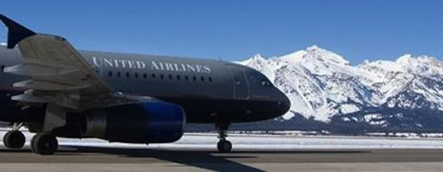 United Airlines to Jackson Hole