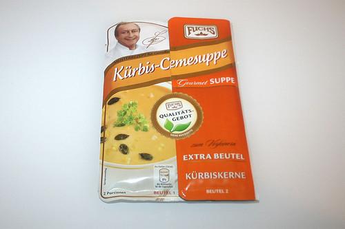 01 - Fuchs Kürbis-Cremesuppe - Packung vorne