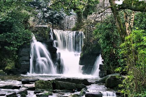 snow water wales waterfall movement pentax handheld kr penllergaer dawnwarrior