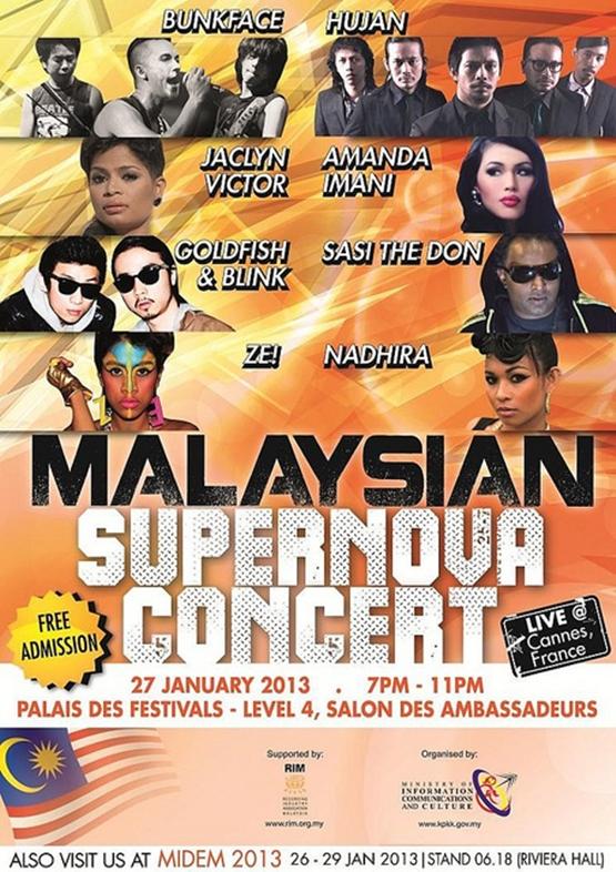 Malaysian Supernova Concert Perancis