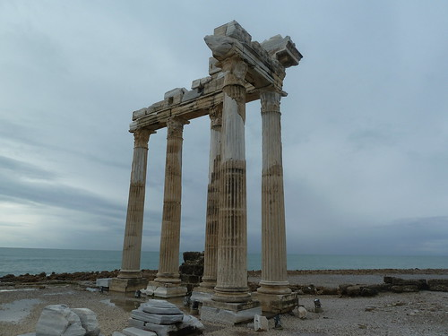 Temple of Apollo in Side by mattkrause1969