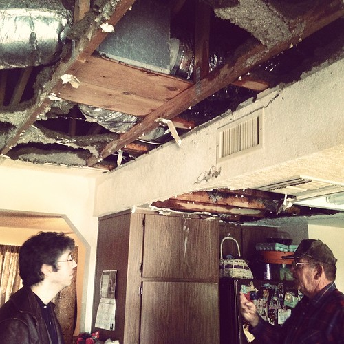 water damage at my parents house by ceck0face