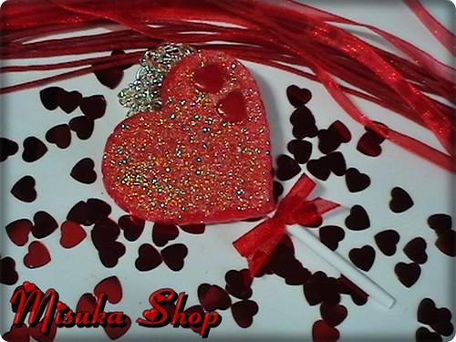 Colgante Piruleta Heart