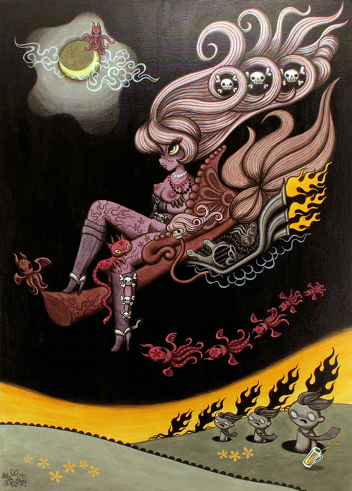 Junko Mizuno, The Full Throttle Witch